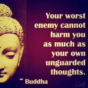 Thoughts Generate Karma